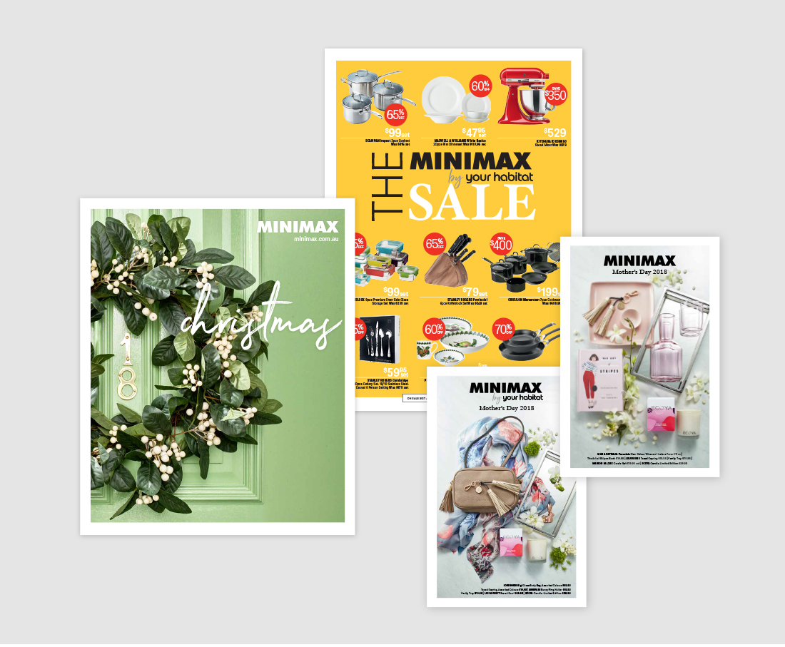 Minimax catalogues